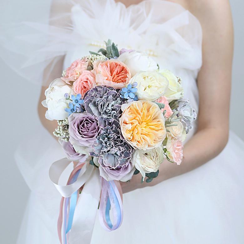 Букет невесты партизанская, букет для невесты